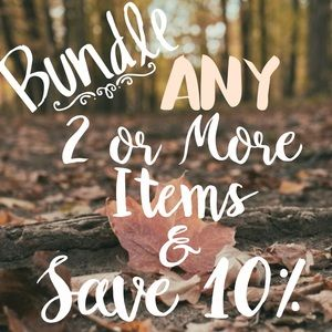 Bundle & Save! Let me Send you a Private Offer!